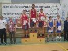 XXII Ogólnopolska Olimpiada Młodzieży w zapasach w stylu wolnym - Lidzbark Warmiński 2016